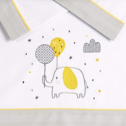 Pekebaby GOLDEN - Tríptico sábanas algodón coche (35 x 75 cm ...