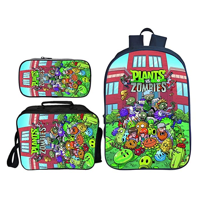 Mochilas Infantiles, Plantas Vs. Zombies School Bag, Youth ...