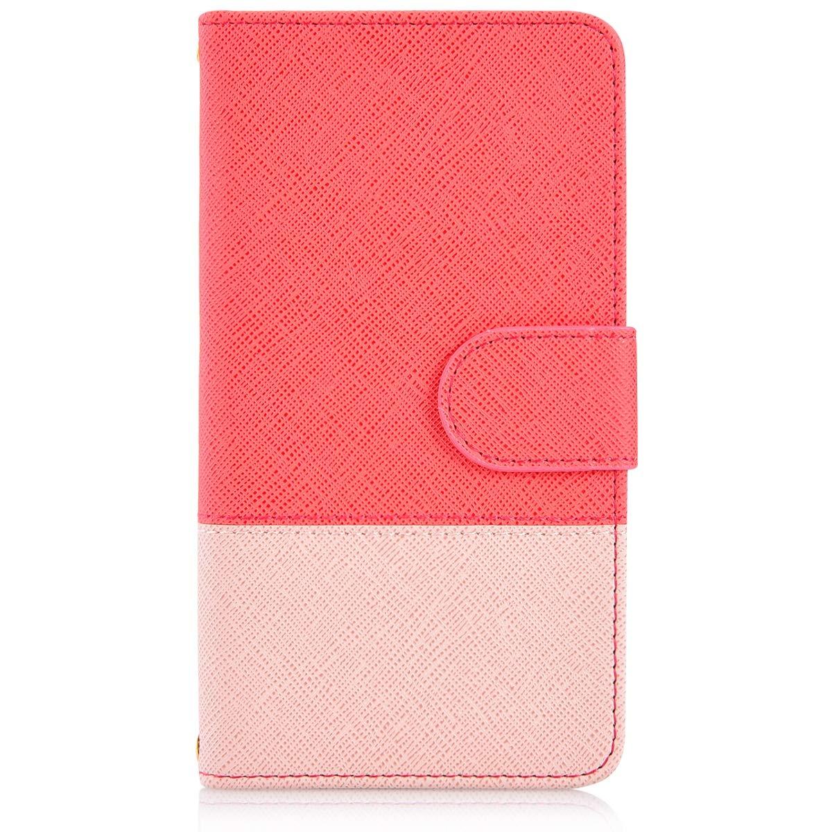 Gelb Felfy Kompatibel mit Huawei P20 Lite H/ülle Premium PU Leder Tasche Magnet Flip Case Creative Bunt Lederh/ülle im Bookstyle Handyh/ülle Brieftasche Cover mit Kartenf/ächer Standfunktion