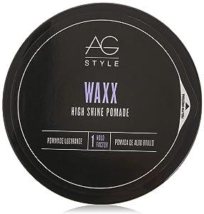AG Hair Style Waxx High Shine Pomade, 2.5 Fl Oz
