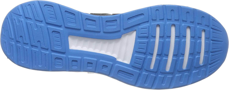 adidas Falcon, Chaussures de Running Homme Gris Grey Three F17 Grey Six Shock Cyan Grey Three F17 Grey Six Shock Cyan