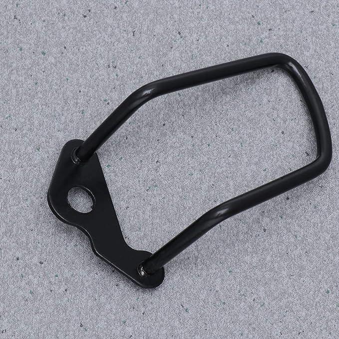 LIOOBO Cambiador de velocidad de engranaje trasero de bicicleta pr/áctica duradera de alta calidad Protector de cambio de cadena de protector de cambio trasero