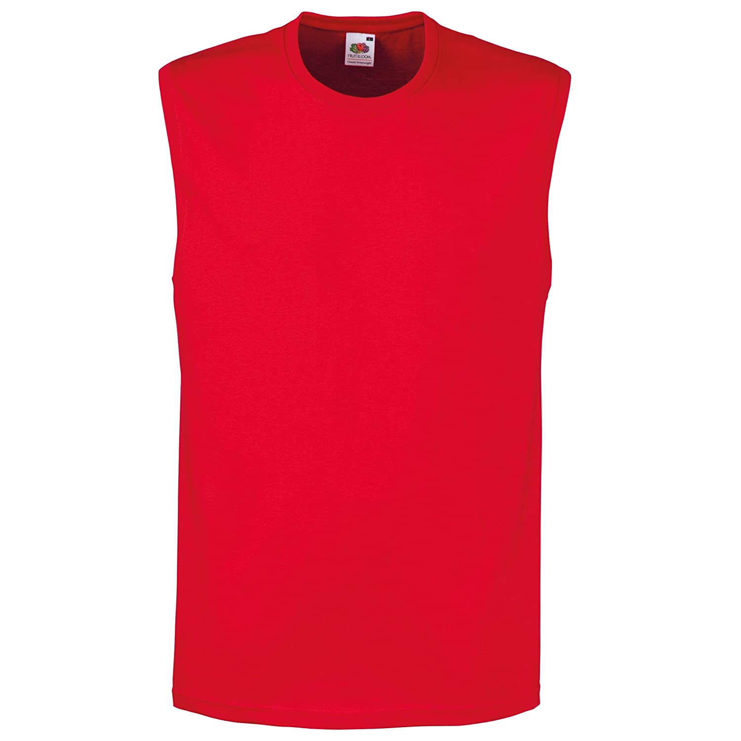 Fruit of the Loom Mens Sleeveless Vest/Tank Top