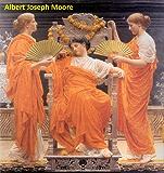 43 Amazing Color Paintings of Albert Joseph Moore - British Academic Painter (September 4, 1841 - September 25, 1893)