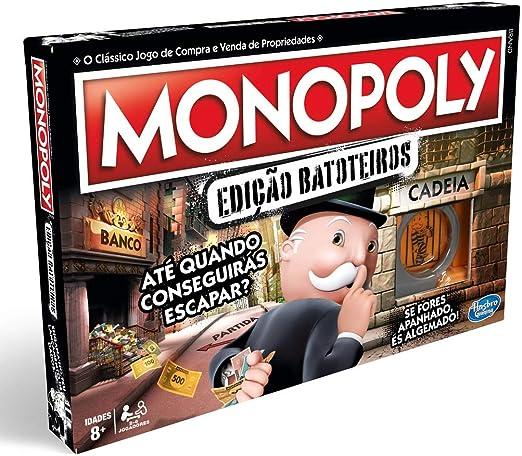 Monopoly- Tramposo (Versión Portuguesa) (Hasbro E1871190): Amazon.es: Juguetes y juegos