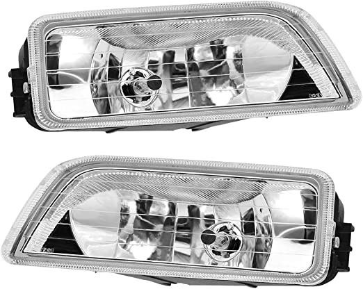2PCS Clear Bumper Driving Fog Lights LH RH For 2003-2007 Honda Accord 4DR Sedan