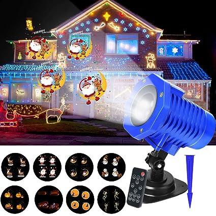 Christmas Projection Lights.Amazon Com Christmas Projector Lights Led Projection