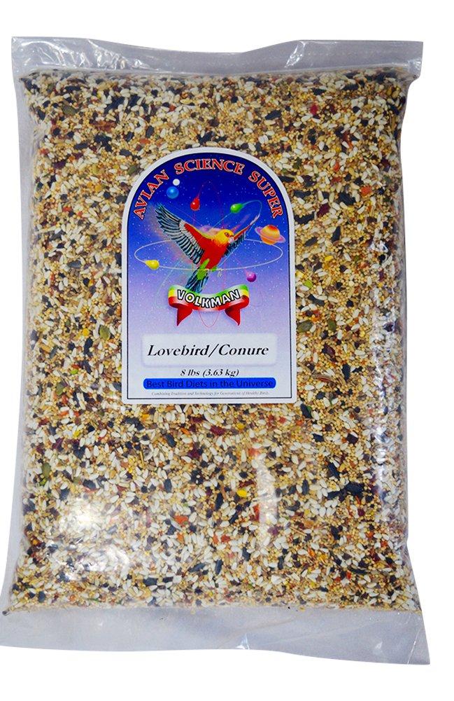 Volkman Seed Avian Science Lovebird & Conure Bird Seed 8lb by Volkman