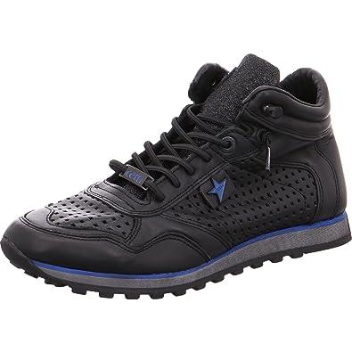 e8d2219c902e85 Damen Sneaker Schuhe Schwarz C1048 Cetti 318177 ZUSRZx