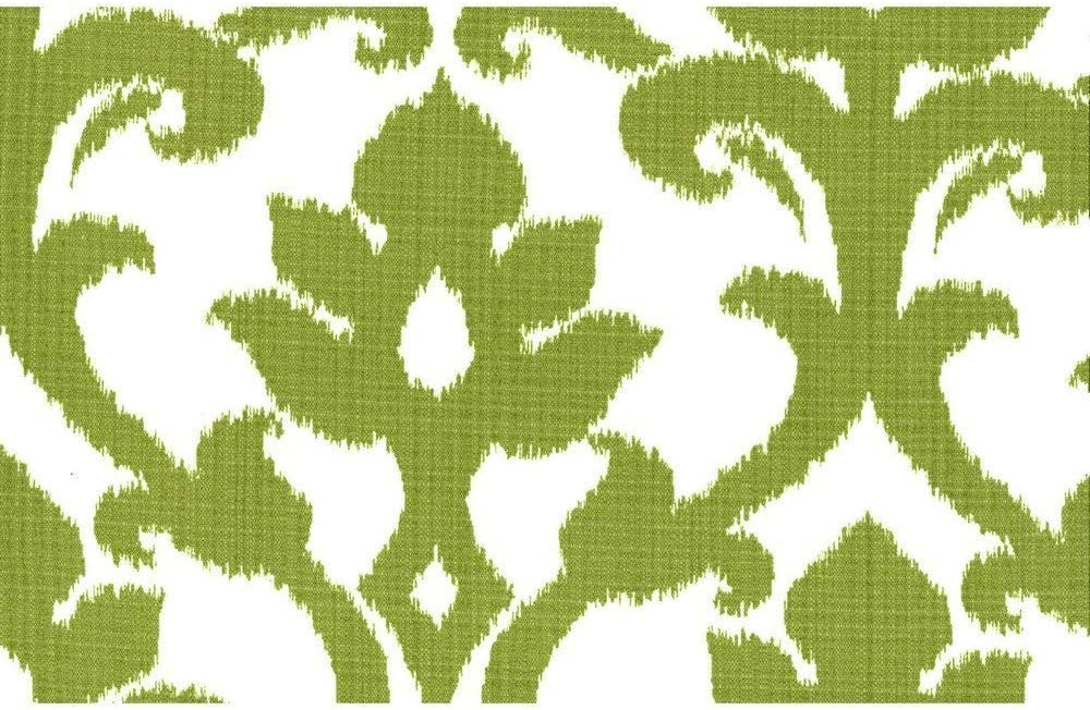 Blazing Needles Spun Polyester Patterned Outdoor U-Shaped Tufted Chair Cushions Set, Set of 4, 16 , Basalto Kiwi