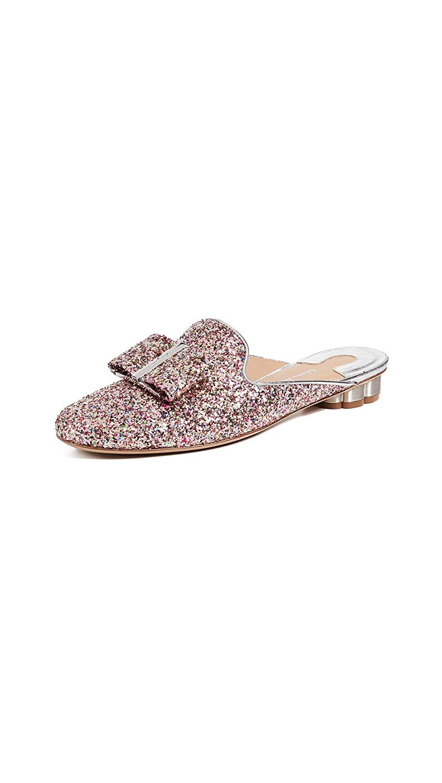 ad060cb95 Amazon.com: Salvatore Ferragamo Women's Sciacca Glitter Mules: Shoes