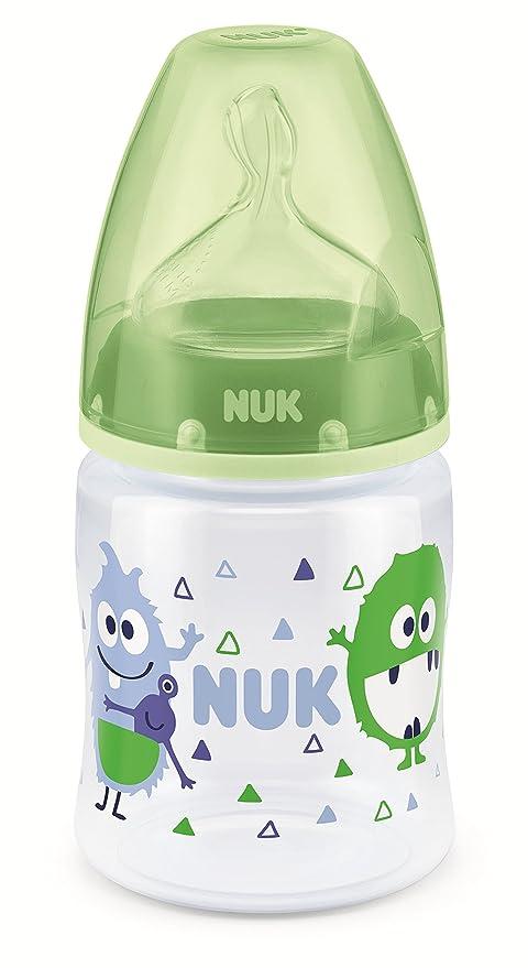 NUK First Choice+ - Biberón cuello ancho de silicona, talla ...