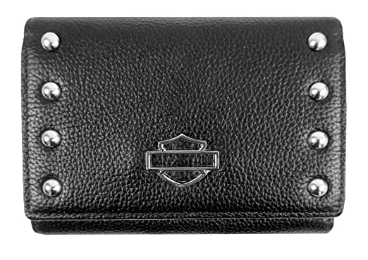Harley-Davidson Women s Studded Bar   Shield Rider Clutch Wallet ... 100938e1c6
