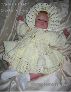 Baby doll bassinet crochet pattern for baby preemie and tiny vanilla parfait babydoll crochet pattern 0 3 3 dt1010fo