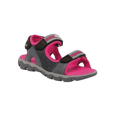 65490f8ce51c Regatta Great Outdoors Childrens Kids Terrarock Junior Sandals (UK 8)  (Iron Jem)  Amazon.co.uk  Shoes   Bags