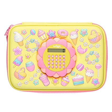 Amazon.com: Smiggle Calculator Play Hardtop - Estuche para ...