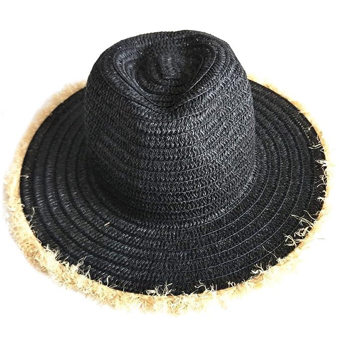comprare a buon mercato scarpe eleganti prezzo ufficiale PREMYO Cappello di paglia da donna in nero. Elegante ...