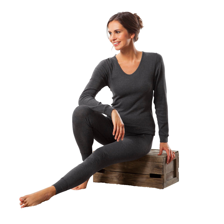 2-pk long sleeve tops fine rib