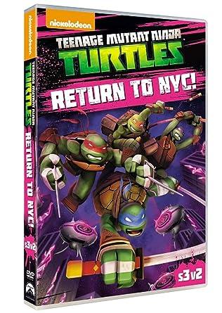 Amazon.com: Teenage Mutant Ninja Turtles: Return To NYC [DVD ...