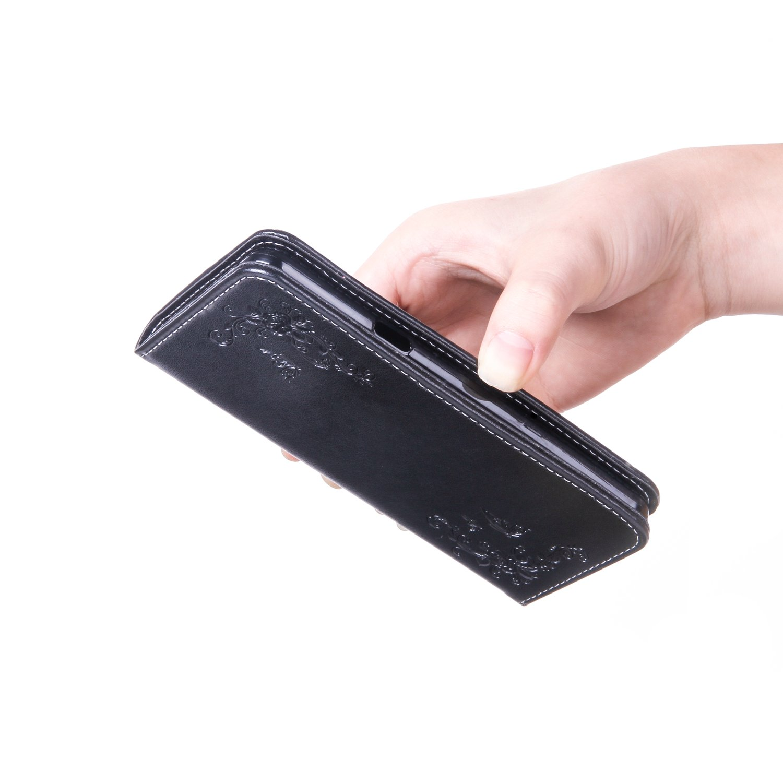 Schutzh/ülle Brieftasche mit Kartenfach Klappbar Magnetverschluss Sto/ßfest Handyh/ülle Case f/ür Samsung Galaxy A3 2017 - HOHA22243 Grau Lomogo Galaxy A3 2017 // A320 H/ülle Leder