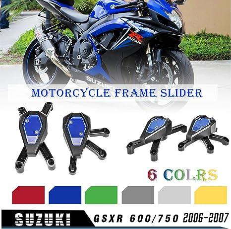Crash Protectors for SUZUKI GSXR 600 750 2006-2010 Frame Sliders Mushrooms