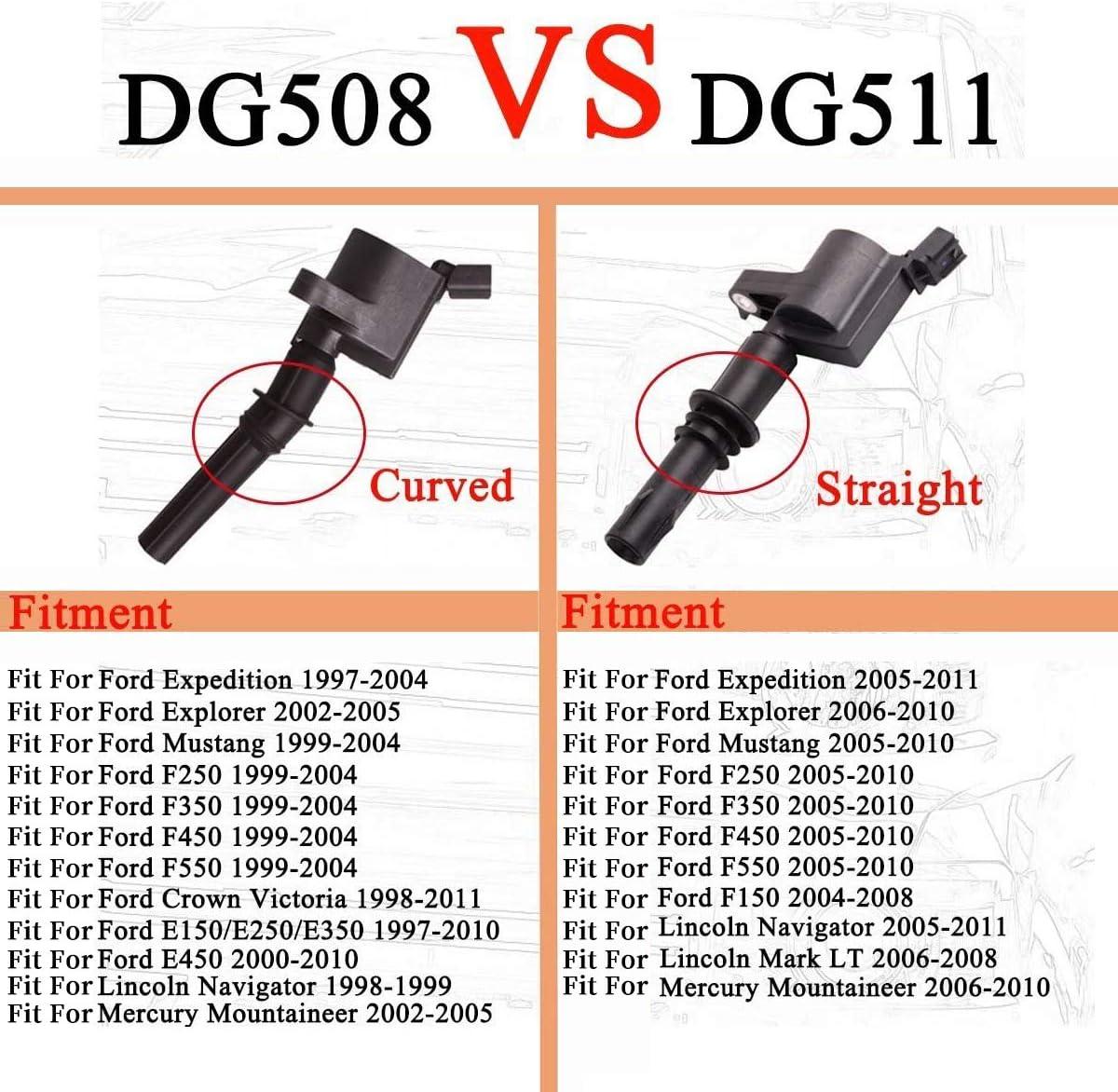 For 2006-2008 Lincoln Mark LT V8 5.4L Ignition Coil