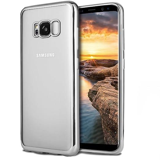 19 opinioni per Custodia Samsung Galaxy S8, Ubegood Bumper Caso per S8 Cristallo Anti-graffio
