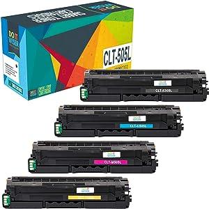 Do it Wiser Compatible Toner Cartridge Replacement for Samsung ProXpress C2620DW C2670FW C2620 C2670 CLT-K505L CLT-C505L CLT-Y505L CLT-M505L (Black Cyan Yellow Magenta, 4-Pack)