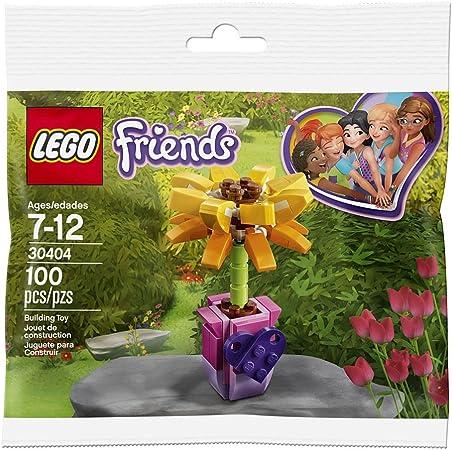 LEGO 20 x YELLOW FLOWERS PART No 4728 CITY-FRIENDS