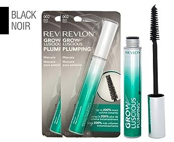 3dbf3463752 Amazon.com: Revlon Grow Luscious Plumping Mascara, Black, 0.34 Fluid ...