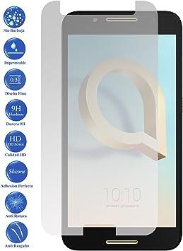 Todotumovil Protector de Pantalla Alcatel A7 4G 5.5 de Cristal Templado Vidrio 9H para movil: Amazon.es: Electrónica