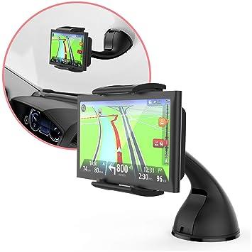 GPS Garmin Halterung 25xx 1stStop4All Fenster oder armaturenbrett kfz Halterung kompatibel mit Garmin N/üvi Serie 24xx 4X und 5X LM LMT LMTHD
