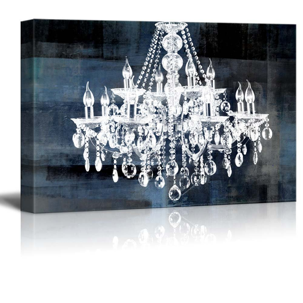 art chandelier lovely print canvas chandeliers of distressed