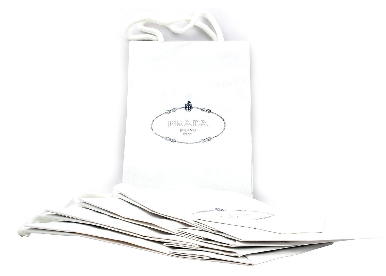 98bbfb705045 Amazon.com: Prada Gift Paper Shopping Bags, 5pk: Home & Kitchen
