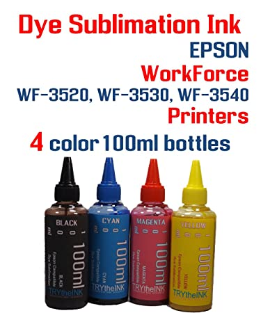 Amazon.com: Tinta de sublimación – WORKFORCE WF 3520, WF, WF ...
