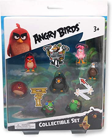 FREE S/&H ! New ANGRY BIRDS Toy MYSTERY FIGURE Mini Collectible Character Ages 5