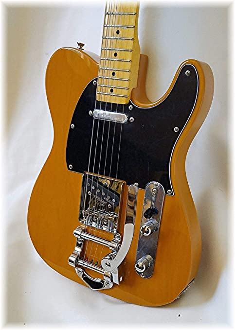 Dillion DVT-52 Telecaster Guitarra Eléctrica Clásica Butterscotch ...