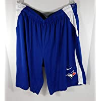$46 » New Men's Toronto Blue Jays Player Game Issued Dri-Fit Training Shorts Nike 2XL - MLB Game Used