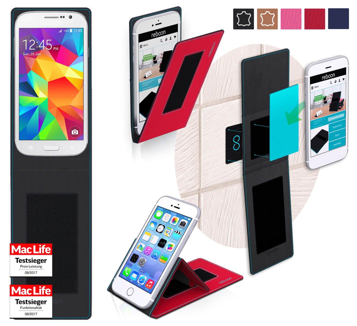 reboon Funda para Samsung Galaxy Grand Neo Plus   in Rojo ...