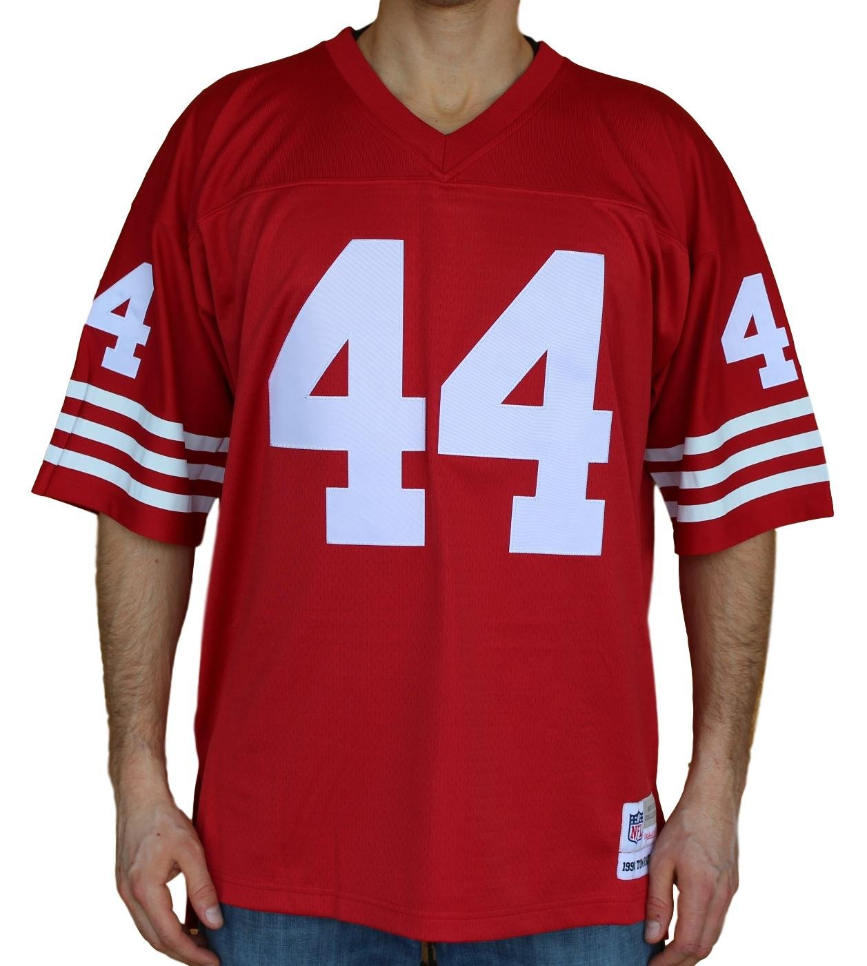 sneakers for cheap 44656 162d2 Amazon.com : Mitchell & Ness Tom Rathman San Francisco 49ers ...