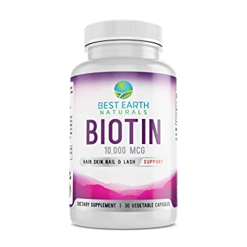 Biotin 10 000 Mcg Extra Strength Best Selling Biotin Vitamins For Hair Growth Strong Nails
