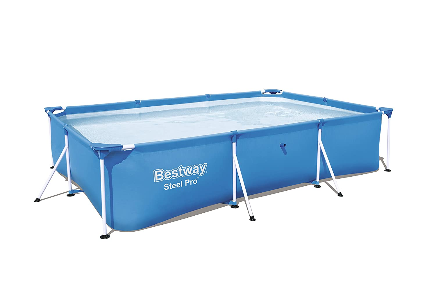 Bestway Steel Pro Splash - Pool of 221 x 150 x 43 cm, 1,200 l BW56401