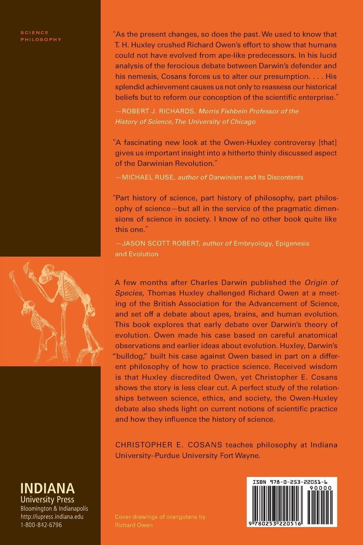 Owen's Ape And Darwin's Bulldog: Beyond Darwinism And Creationism:  Christopher E Cosans: 9780253220516: Amazon: Books