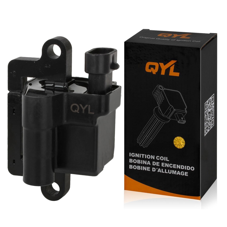 QYL Ignition Coil Pack for Cadillac Chevrolet Avalanche 1500 2500 Express 1500 2500 3500 Silverado 1500 2500 3500 Suburban 1500 2500 GMC Savana 1500 2500 3500 Sierra 1500 2500 3500 Hummer H2 UF271