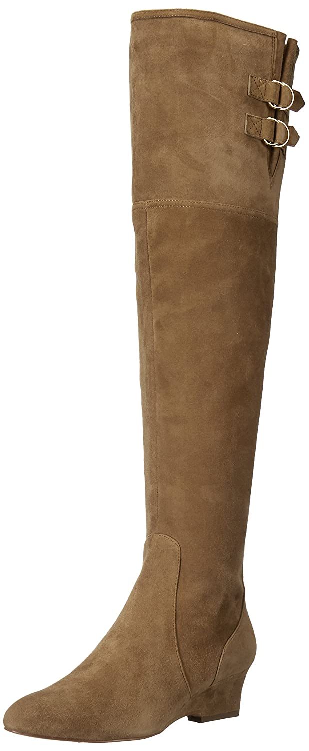 Nine West Women's Jaen Leather Fashion Boot B01N6ZJBZD 9 B(M) US|Green