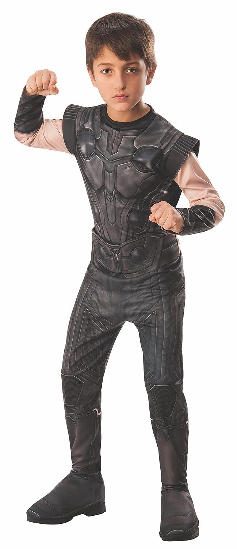 Avengers - Disfraz de Thor oficial Infinity Wars para niños, infantil 3-4 años (Rubies 641311-S)