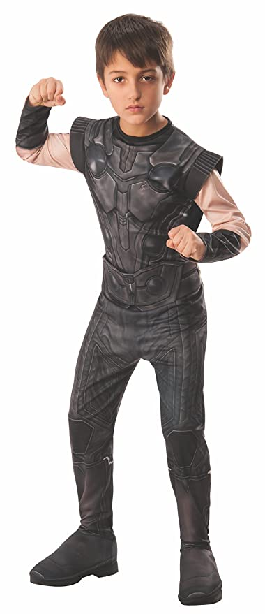 Avengers - Disfraz de Thor oficial Infinity Wars para niños, infantil 5-7 años (Rubies 641311-M)