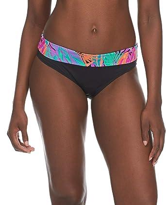 9d4de6309b Skye Women's Mid Waist Full Coverage Bikini Bottom Swimsuit, Borneo Floral  Print, Small