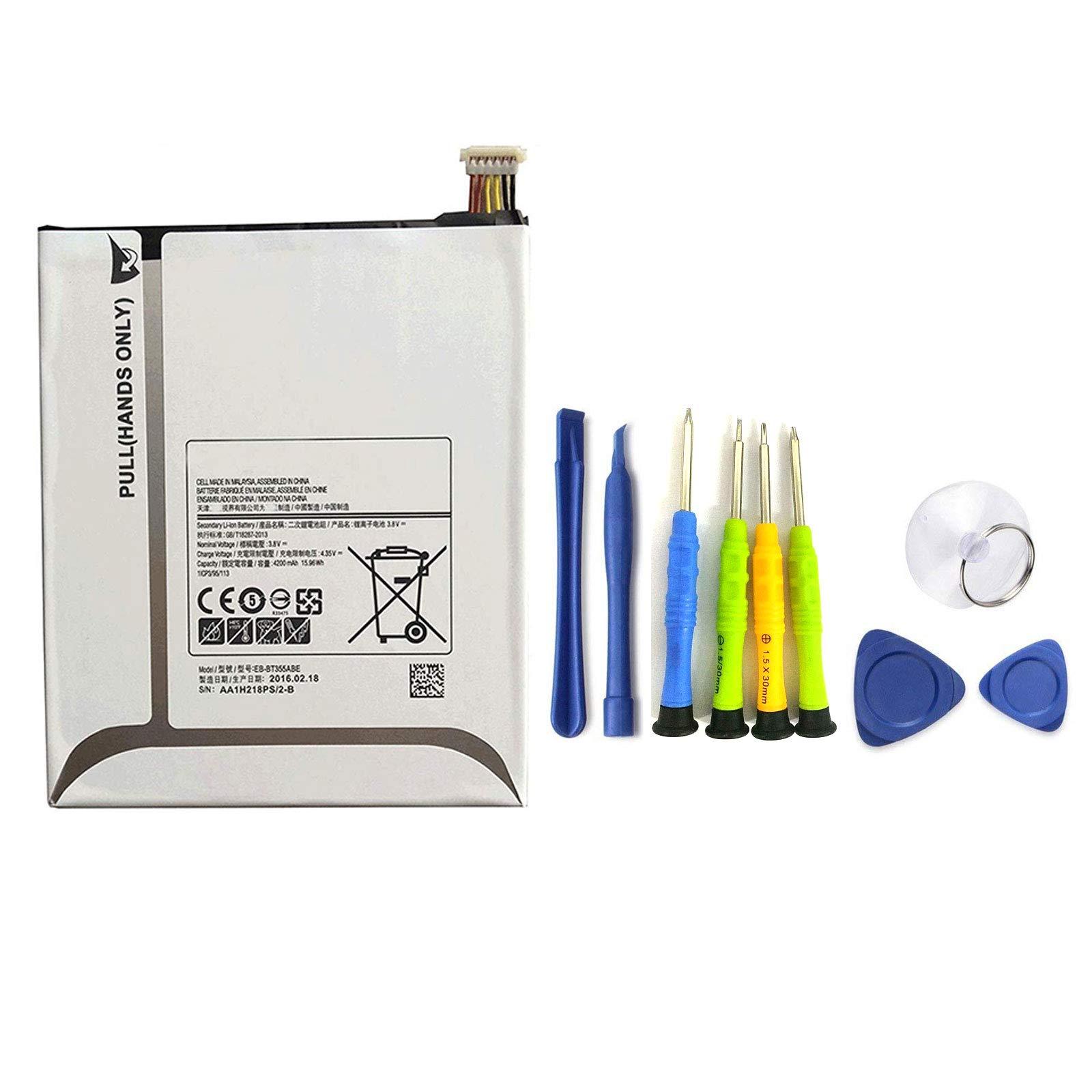 Bateria Dentsing EB-BT355ABE para Samsung Galaxy TAB A 8 SM-T350 T355C Tab5 P350 EB-BT355ABC EB-BT355ABA con Installatio