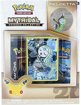 Pokemon POK80094 Keldeo Mythical Collection Juego de Cartas: Amazon.es: Juguetes y juegos